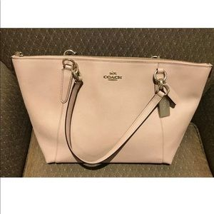 Coach Tote in Pink NWT